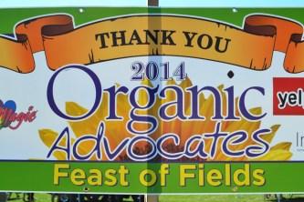 Organic Feast of Fields 2014