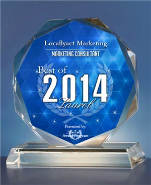 Best Local Marketing Consultant of Laurel 2014 Recipient