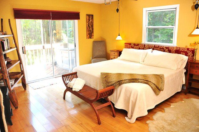 Clean Guest Bedroom