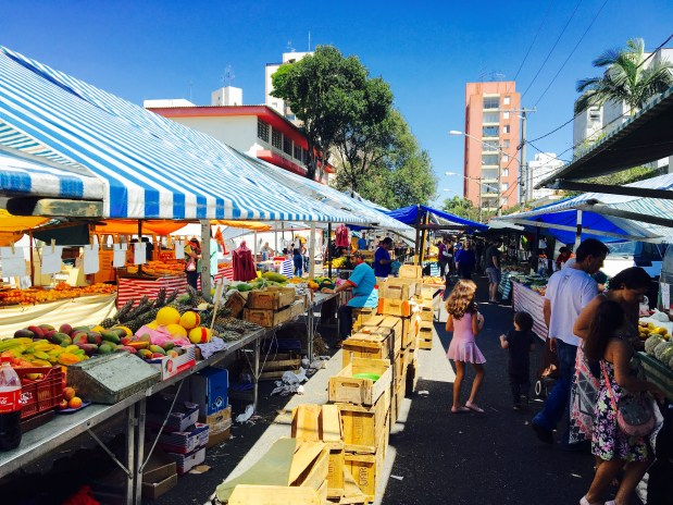 Weekend markets, known as feirinhas, pop up all over Sao Paulo