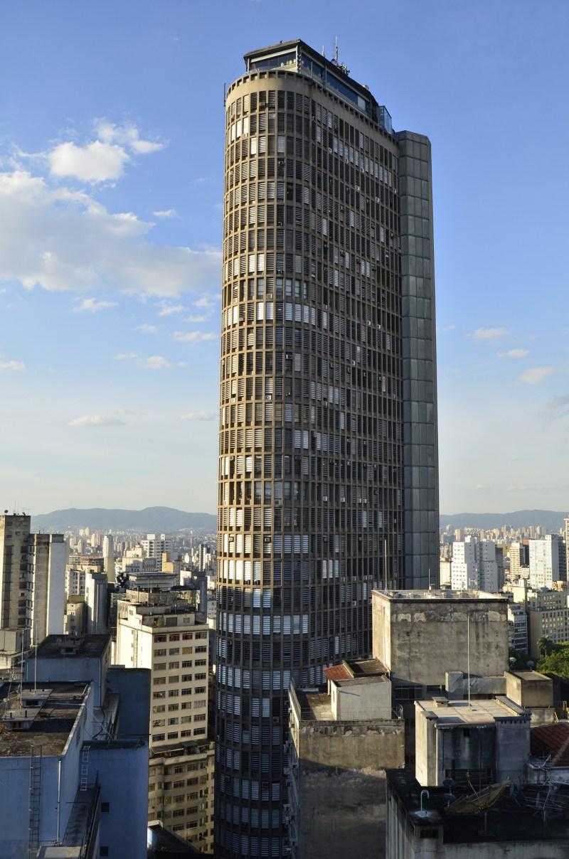 Edificio Italia building in Sao Paulo, Brazil