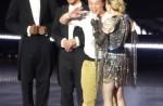 """Madonna dances with HK star Eason Chan on stage, """"kicks"""" his butt - 11"""