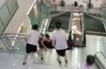 Chinese exercise extreme caution when riding escalators after mishap - 22