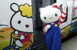 Hello Kitty-themed train unveiled in Taiwan - 6