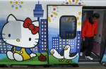 Hello Kitty-themed train unveiled in Taiwan - 9