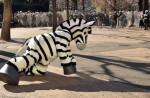 Tokyo zoo stages'zebra escape' - 2