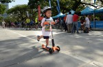 Thousands have fun on first Car-Free Sunday - 56