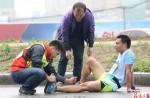 Thousands injured after mistaking soar bars for energy bars at marathon - 1