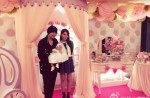 Jay Chou shares photos of his daughter's face... almost - 9