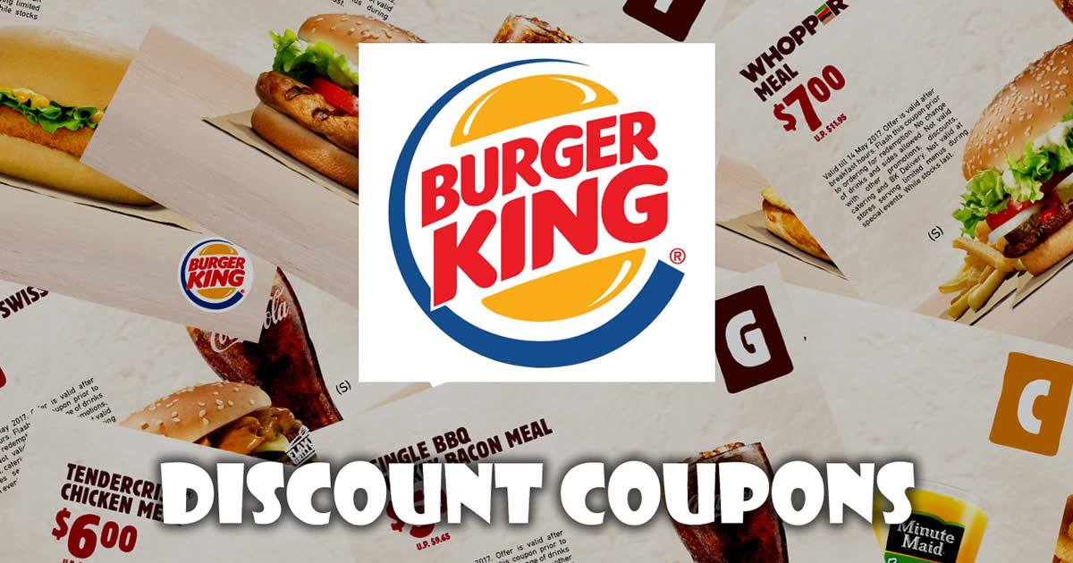 Burger king new zealand coupons