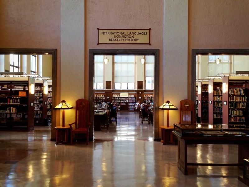 Berkeley Public Library (interior)