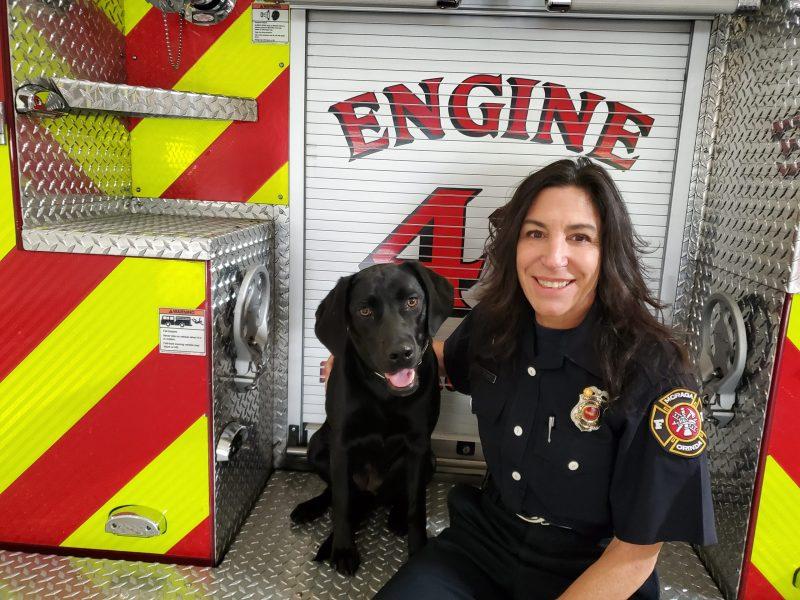 MOFD firefighter Brandi