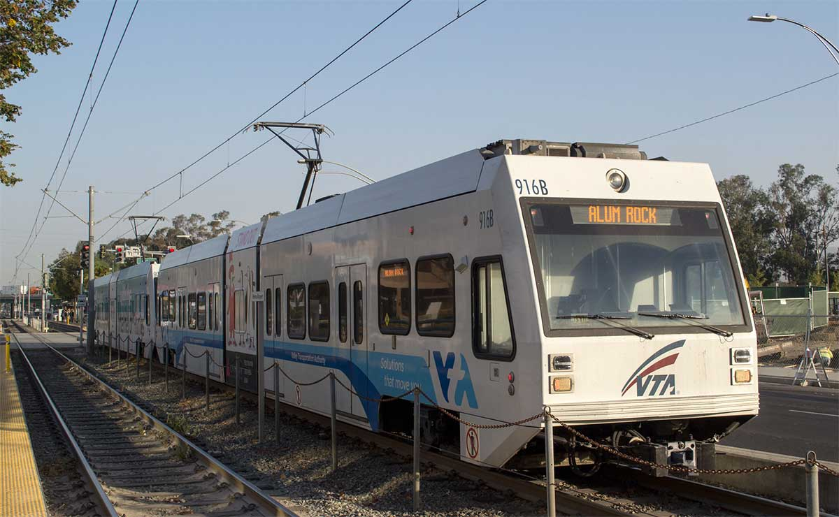 VTA light rail system resumes full service for first time since May mass shooting