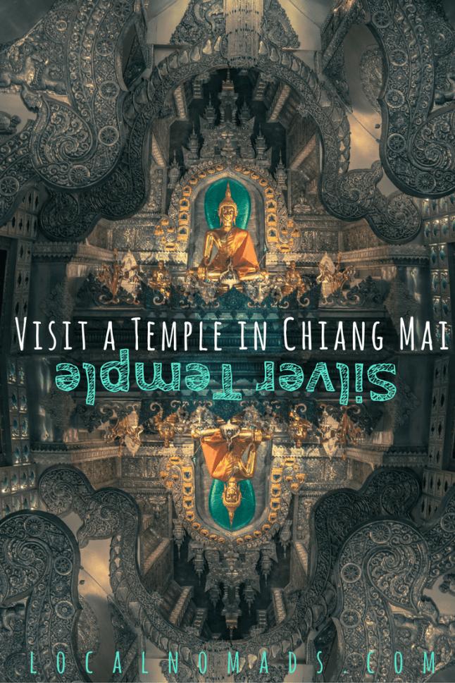 Silver Temple Chiang Mai, Thailand
