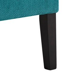 Teal Accent Chair Chrome Dining Chairs Uk Annora Local Overstock Warehouse Online