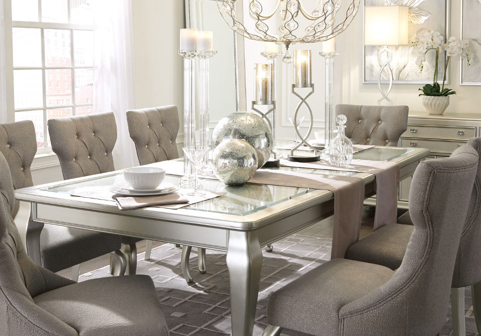 Coralayne Dining Room Extension Table  Local Overstock
