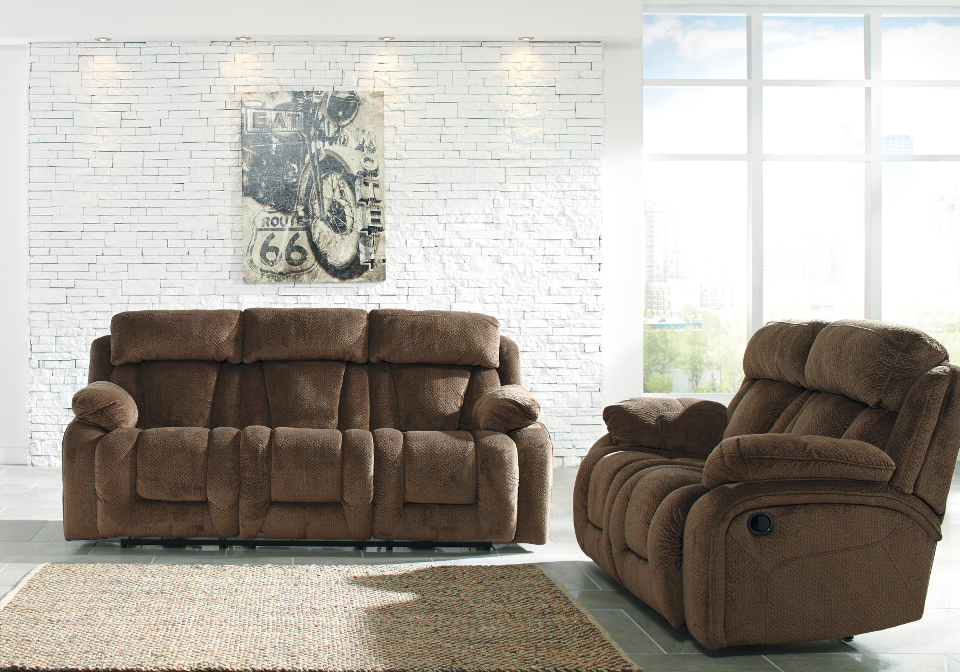 overstock sofa pictures of arm styles stricklin chocolate reclining power set local