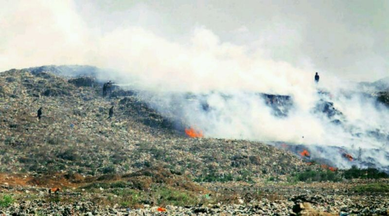 Deonar dumping yard flames may soon leave Mumbaikars thirsty