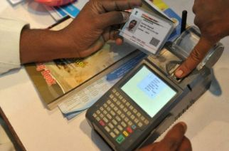 A transaction taking place via Aadhaar Pay (representational). Picture Courtesy: inspectspot.com