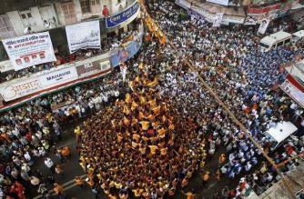 Over 100 govindas were injured in Mumbai till last night (Representational Image, Courtesy: India TV News)