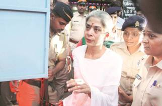 Around 200 inmates, including Indrani Mukerjea, climbed up the jail's terrace and staged a protest over Shette's death (Picture Courtesy: Law Intellect India)