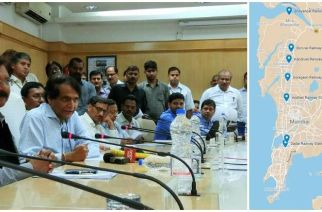 Railway Minister Suresh Prabhu inaugurated the passenger amenities via video-conferencing today