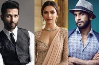 Padmavati's leading cast - Shahid Kapoor, Deepika Padukone and Ranveer Singh