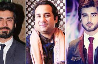 Fawad Khan, Rahat Fateh Ali Khan and Imran Abbas Naqvi