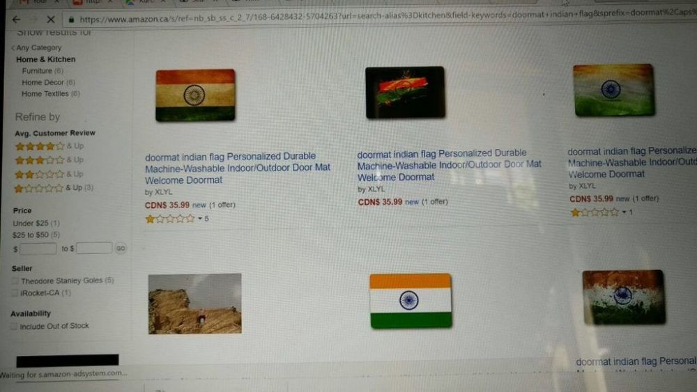 Amazon removes doormats with Indian flag after Sushma Swaraj threatens to stop granting visa to its employees 3