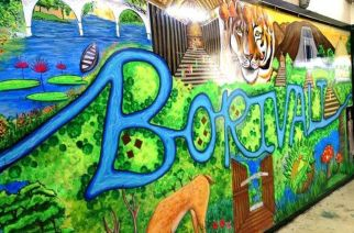 Beautified Borivali Railway Station