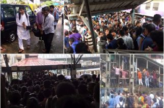 At least 15 people have died during the stampede (Picture Courtesy: Rahul Aje)