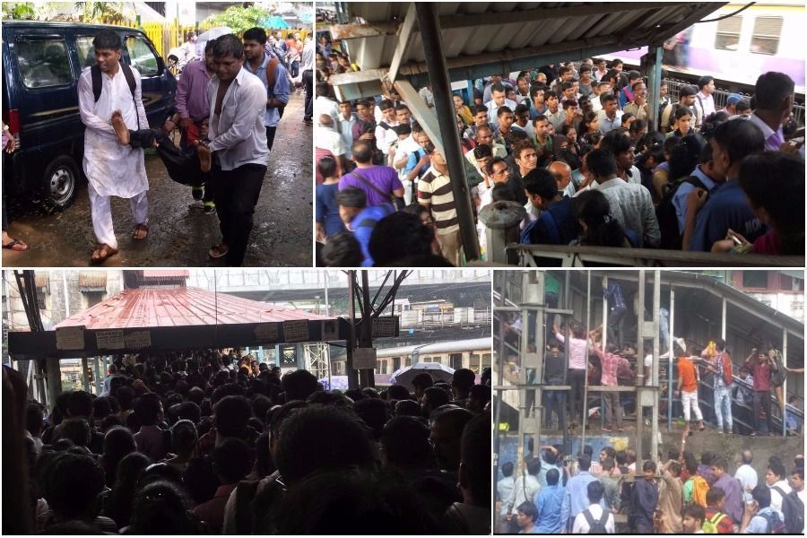 At least 15 dead, 25 injured during stampede at Prabhadevi (Elphinstone) station