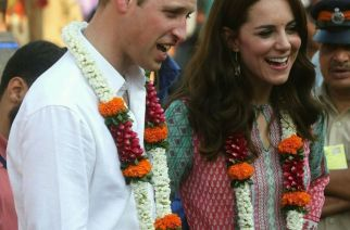 Prince William and Kate Middleton during their Mumbai tour