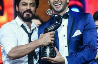 Shah Rukh Khan and Ranveer Singh at TOIFA Awards