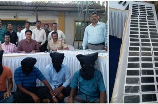 9 persons were arrested in connection with the theft and goods worth Rs 85 lakh were recovered