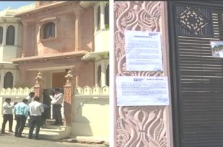 The firm sealed Dangi's house after he failed to repay the Rs 3 crore outstanding balance (Picture Courtesy: ANI)