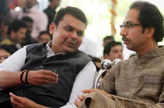 Chief Minister Devendra Fadnavis and Sena Chief Uddhav Thackeray
