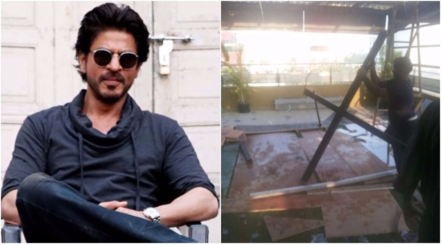 BMC demolishes part of SRK's production house in Malad