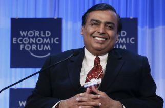 Mukesh Ambani. Picture: REUTERS/Pascal Lauener