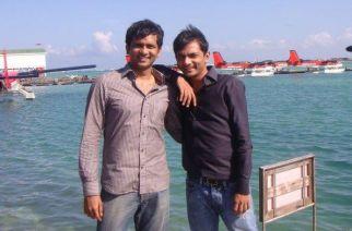 Bhavin and Divyank Turakhia. Picture: Bhavin/Facebook