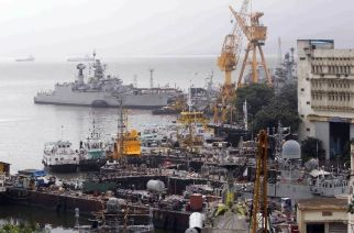 Fire at Mumbai's naval dockyard, 2 Navy patrol boats sink