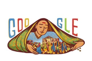 Google Doodle paying tribute to