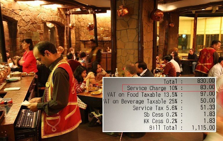 Government set to scrap 'service charge' on restaurant bills, patrons can tip voluntarily instead