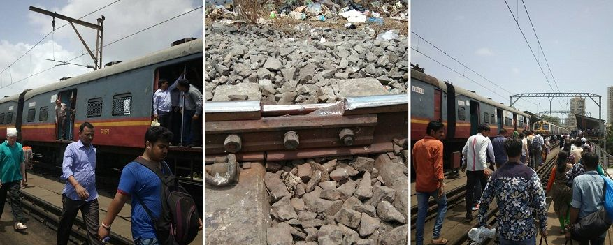 Harbour line services disrupted due to rail fracture between Dockyard and Reay Road stations