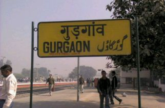 Haryana's corporate hub-Gurgaon will now be renamed as Gurugram