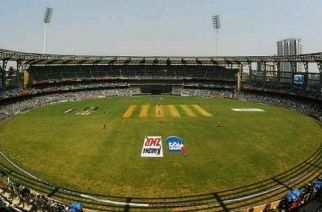 A picture of Mumbai's Wankhede Stadium