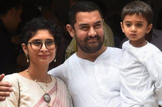 Kiran Rao and Aamir Khan with their son Azad Rao Khan