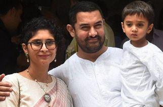 Kiran Rao and Aamir Khan with their son Azad Rao Khan