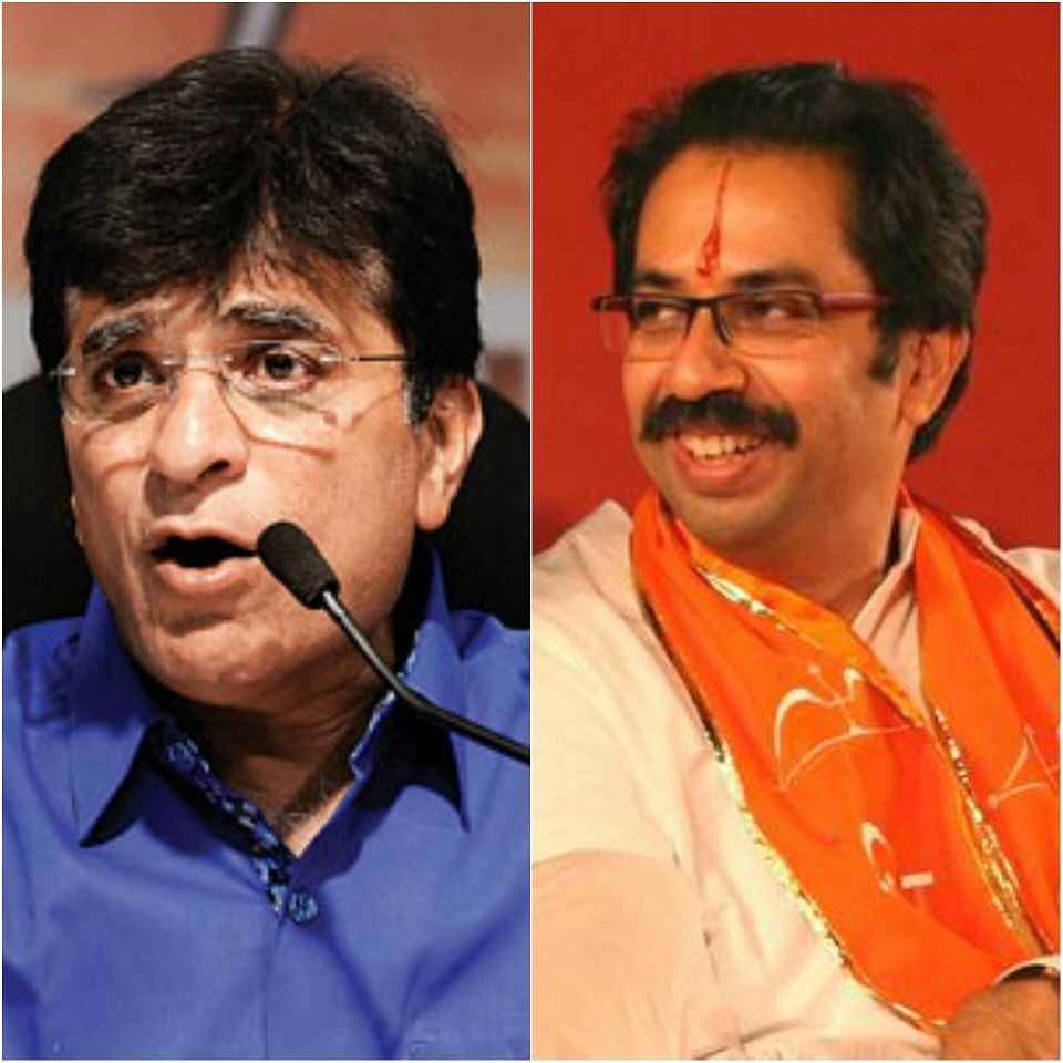 Kirit Somaiya threatens to move court against Uddhav Thackeray