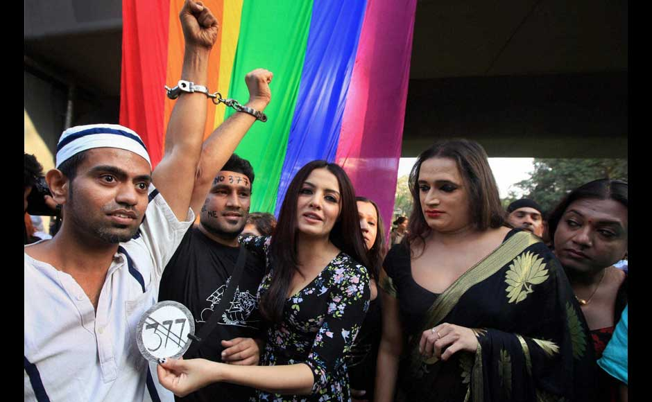 LGBT community won't be free till Section 377 exists, says Celina Jaitley